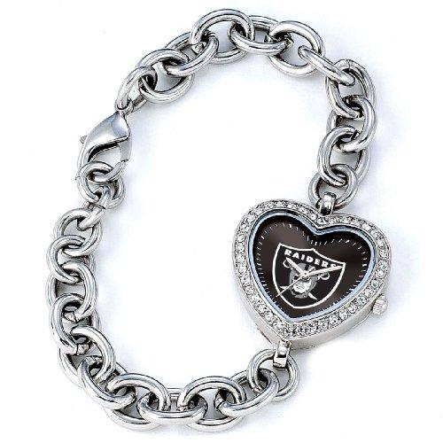 NFL Damen FH OAK Heart Collection Oakland Raiders Uhr
