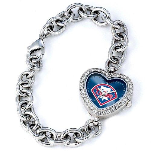 MLB Frauen MH PHI Heart Collection Philadelphia Phillies Uhr