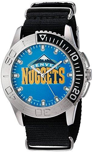 Game Time Herren Starter Quarz Metall und Nylon Automatik Uhr Farbe Schwarz Modell nba sta den