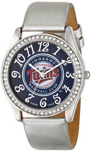 Game Time Damen MLB GLI MIN Glitz klassischen analogen Minnesota Twins Uhr