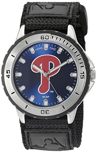 Game Time Mens MLB VET PHI Veteran Watch Philadelphia Phillies