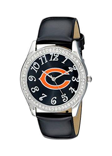 Game Time Damen NFL GLI CHI Glitz klassischen analogen Chicago Bears ansehen