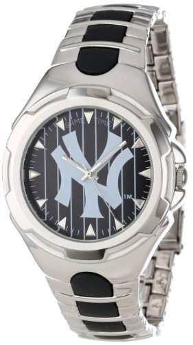 MLB Maenner MLB-VIC-NY3 Victory Series New York Yankees Pinstripe Uhr