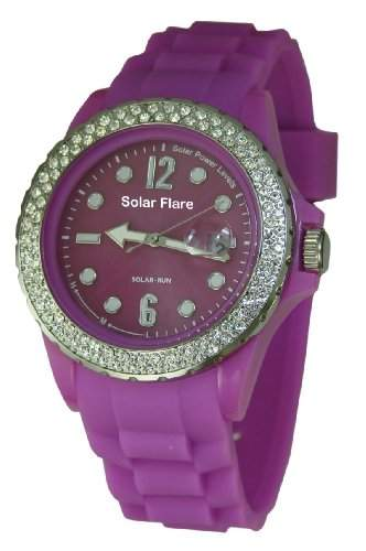 Lifemax Protuberanz 1355LP Armbanduhr, Violett