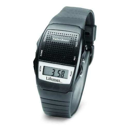 Lifemax Talking Memo Armbanduhr Schwarz 428blk