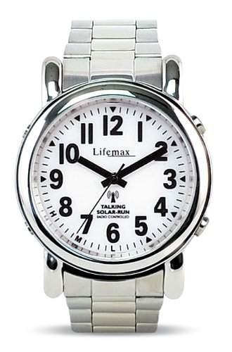 Lifemax Herren-Armbanduhr Analog edelstahl silber 4301