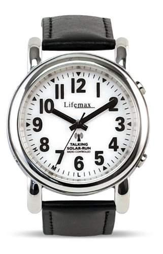 Lifemax Herren-Armbanduhr Analog leder schwarz 430