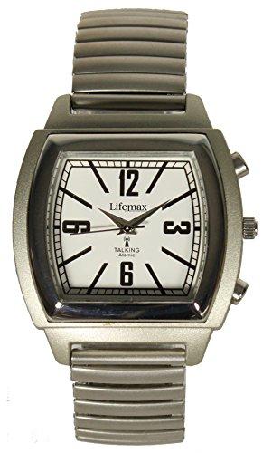 Lifemax unisex Armbanduhr Analog Quarz Edelstahl 1439E