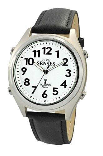 Atomic Talking Watch setzt sich Fuenf Sinne Unisex Sprechende Armbanduhr sens rctk p201 13 M104