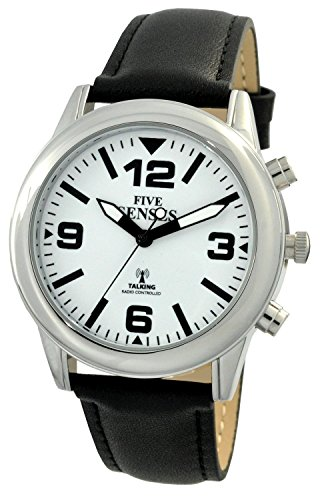 Atomic Talking Watch Fuenf Sinne Unisex Sprechende Armbanduhr rctk34 a307g 15