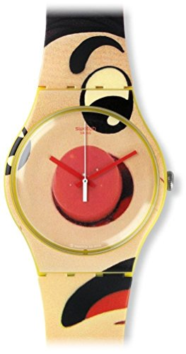Swatch Unisex Armbanduhr Analog Quarz Silikon SUOJ103