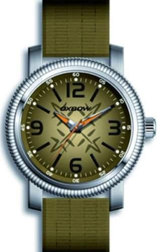Oxbow Herren-Armbanduhr Analog Quarz Textil 4549401