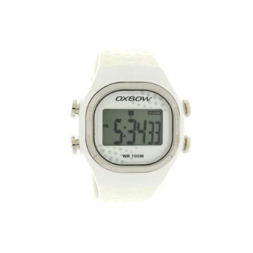 OXBOW-4550601Damen-Armbanduhr 045J699Analog-Armband Gummi weiss