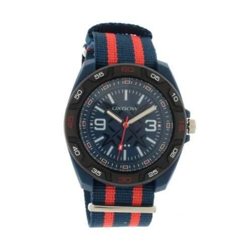 Oxbow Herren-Armbanduhr Analog Quarz Textil 4550901