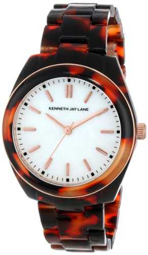 Kenneth Jay Lane Damen 36mm Polycarbonat Armband Polycarbonat Gehaeuse Uhr 3102