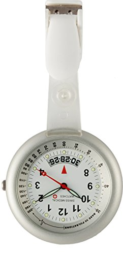Taschenuhr Swiss Medical Professional Line Clear View Silber