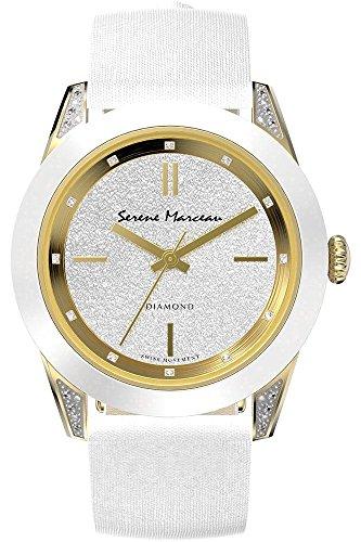 Serene Marceau Diamond Series VI fuer Frauen Armbanduhr Analog Quartz S002 05