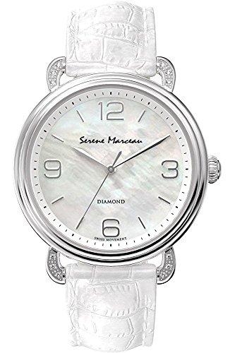 Serene Marceau Diamond Series VII fuer Frauen Armbanduhr Analog Quartz S004 01