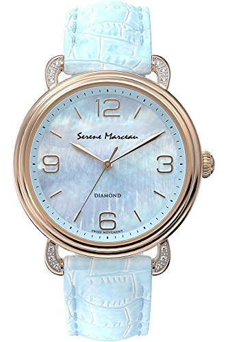 Serene Marceau Diamond Series VII fuer Frauen Armbanduhr Analog Quartz S004 06