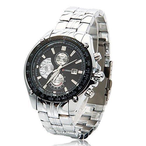 Relojes de Hombre Wasserdicht Relojes deportivos de LUJO Acero INOXIDABLE El Regalo Perfecto 100 garantizado