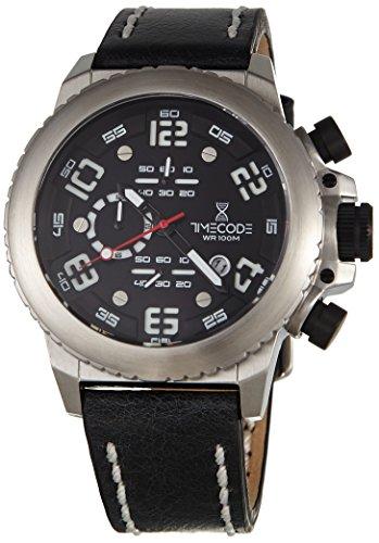 Timecode Everest 1953 fuer Maenner Armbanduhr Chronograph Quartz TC 1004 01