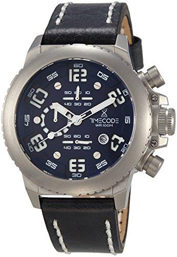 Timecode Everest 1953 fuer Maenner Armbanduhr Chronograph Quartz TC 1004 03