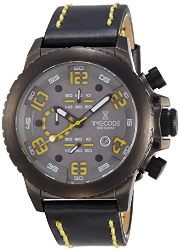 Timecode Everest 1953 fuer Maenner Armbanduhr Chronograph Quartz TC 1004 05