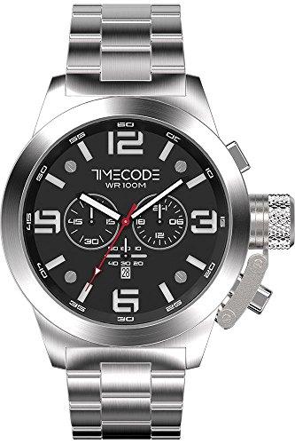 Timecode WTO 1994 fuer Maenner Armbanduhr Chronograph Quartz TC 1007 01