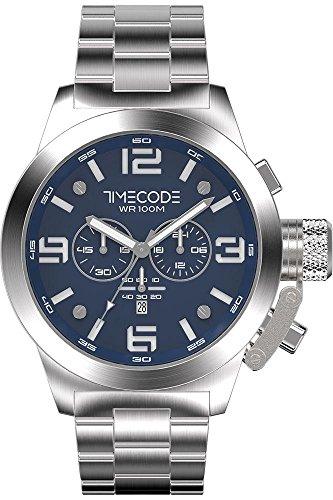 Timecode WTO 1994 fuer Maenner Armbanduhr Chronograph Quartz TC 1007 03