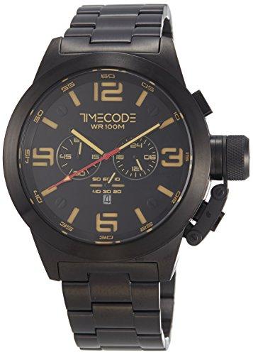 Timecode WTO 1994 fuer Maenner Armbanduhr Chronograph Quartz TC 1007 05