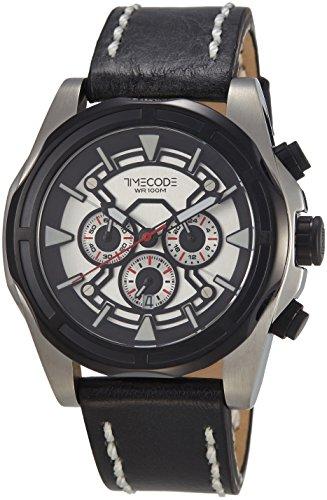 Timecode Suez 1869 fuer Maenner Armbanduhr Chronograph Quartz TC 1010 01