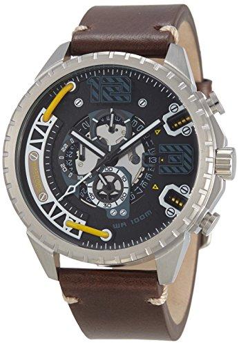 Timecode Tesla 1893 fuer Maenner Armbanduhr Chronograph Quartz TC 1012 04
