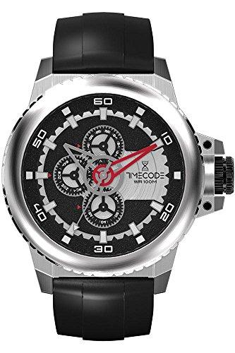 Timecode WWW 1991 fuer Maenner Armbanduhr Multifunktion Quartz TC 1009 01