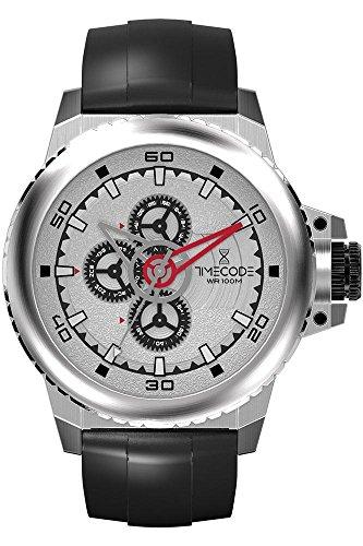 Timecode WWW 1991 fuer Maenner Armbanduhr Multifunktion Quartz TC 1009 02