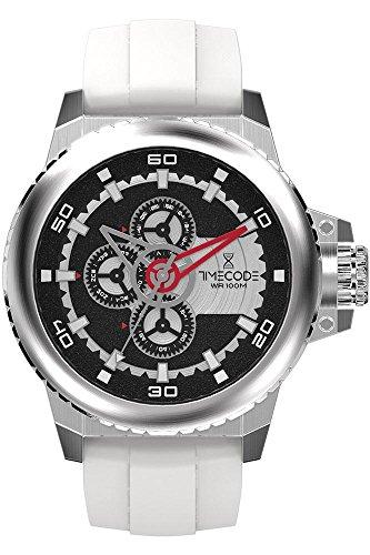 Timecode WWW 1991 fuer Maenner Armbanduhr Multifunktion Quartz TC 1009 04