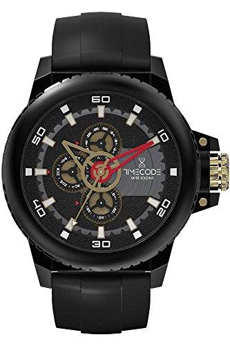 Timecode WWW 1991 fuer Maenner Armbanduhr Multifunktion Quartz TC 1009 05