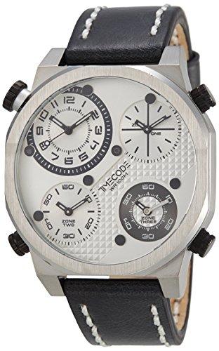 Timecode Boson 2013 fuer Maenner Armbanduhr Vier Zeitzonen Quartz TC 1006 02
