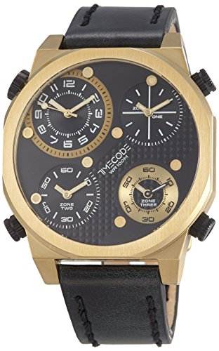 Timecode Boson 2013 fuer Maenner Armbanduhr Vier Zeitzonen Quartz TC 1006 04