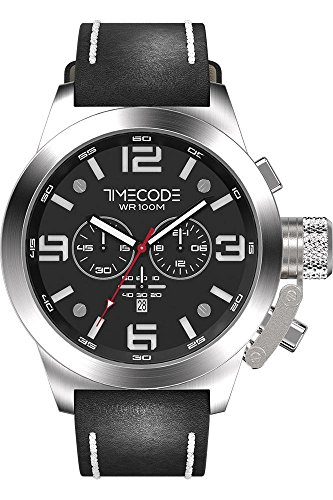 Timecode Nations 1945 fuer Maenner Armbanduhr Chronograph Quartz TC 1008 01