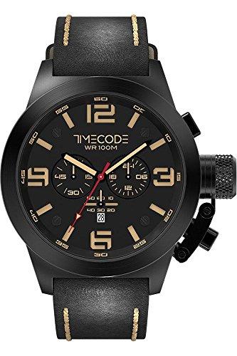 Timecode Nations 1945 fuer Maenner Armbanduhr Chronograph Quartz TC 1008 05