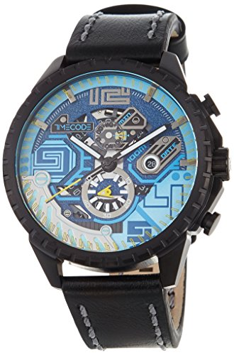 Timecode Quantum fuer Maenner Armbanduhr Chronograph Quartz TC 1013 01
