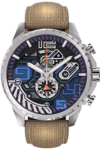 Timecode Quantum fuer Maenner Armbanduhr Chronograph Quartz TC 1013 03