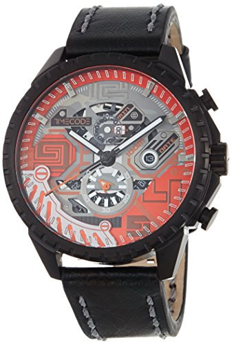 Timecode Quantum fuer Maenner Armbanduhr Chronograph Quartz TC 1013 04