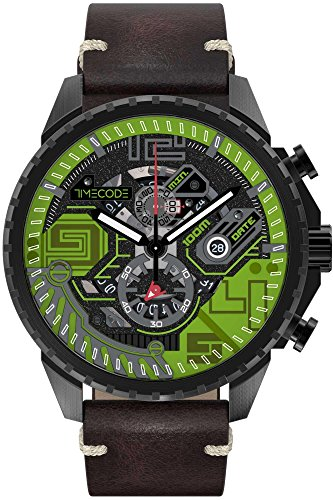 Timecode Quantum fuer Maenner Armbanduhr Chronograph Quartz TC 1013 05