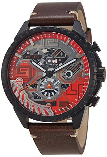 Timecode Quantum fuer Maenner Armbanduhr Chronograph Quartz TC 1013 06