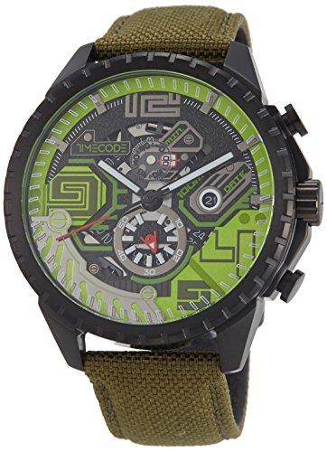Timecode Quantum fuer Maenner Armbanduhr Chronograph Quartz TC 1013 08