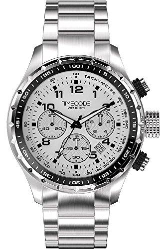 Timecode Sputnik 1957 fuer Maenner Armbanduhr Chronograph Quartz TC 1011 02