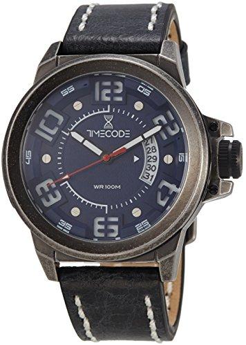 Timecode X Rays 1895 fuer Maenner Armbanduhr Analog Quartz TC 1005 03