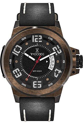 Timecode X Rays 1895 fuer Maenner Armbanduhr Analog Quartz TC 1005 05