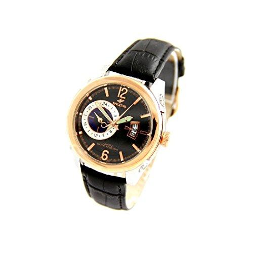 Armbanduhr mit Leder schwarz Speatak 2771